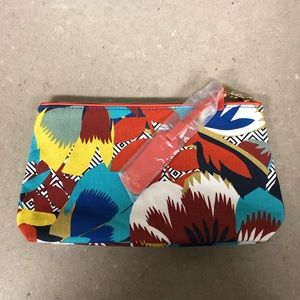 New ESTEE LAUDER Riviera Maya makeup bag clutch